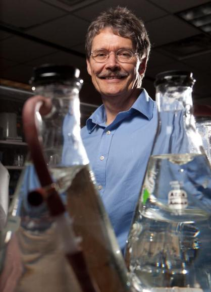 Michael Adams is a member of UGA's Bioenergy Systems Research Institute, Georgia Power professor of biotechnology and distinguished research professor of biochemistry and molecular biology in the Franklin College of Arts and Sciences. (Credit: Image courtesy of University of Georgia)