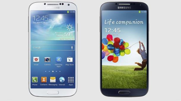 The Galaxy S4. It follows the spectacularly successful Galaxy S III, which sold over 100 million devices in 2012.