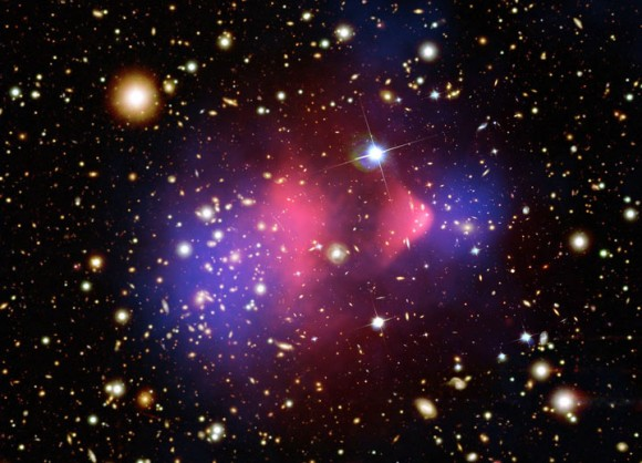 The international Super Cryogenic Dark Matter Search (SuperCDMS) experiment has detected what may be the particle that's thought to make up dark matter throughout the Universe.