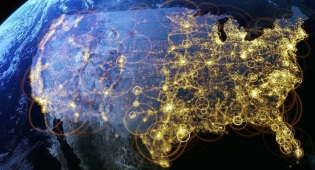 Visualization of internet distribution