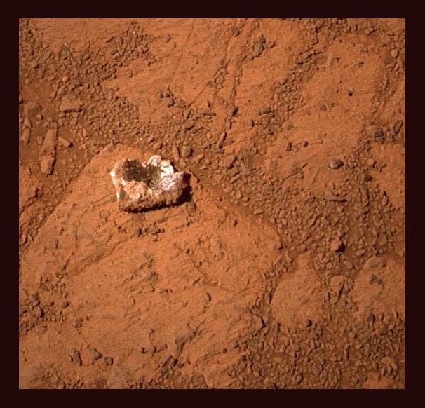 The enigmatic Pinnacle Island rock. Credit: NASA/JPL-Caltech/Stuart Atkinson