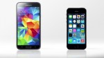 Comparing features and specs of the Samsung Galaxy S5 and iPhone 5s