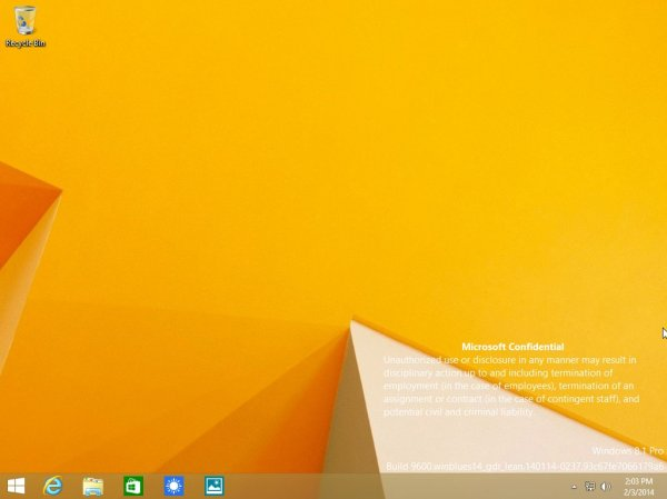 Windows 8.1 Update 1 will launch in April Image credits: Softpedia